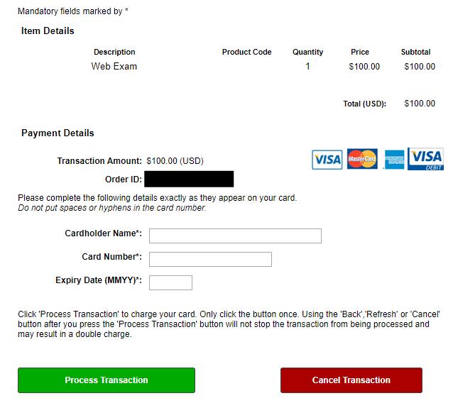 Tableau Desktop試験の申し込み 料金の支払い