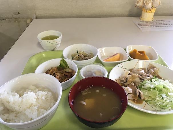 カーアカデミー那須塩原での食事