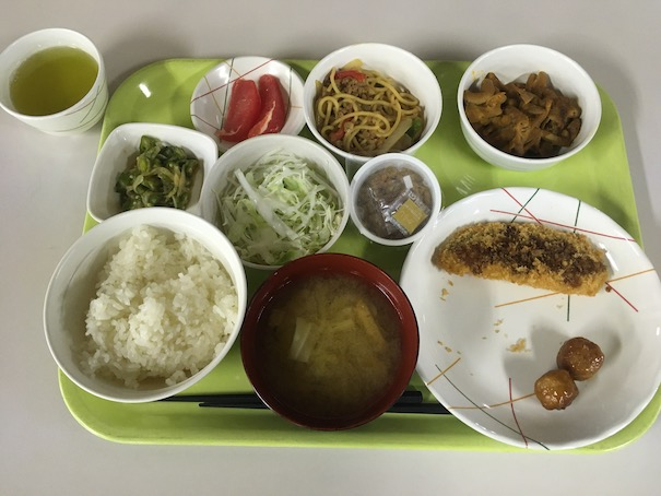 カーアカデミー那須塩原での食事2